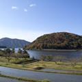 晩秋の菅湖2