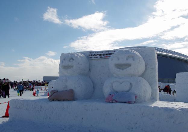 札幌雪まつり つどーむ にて (3)