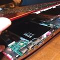 Photos: SSD組み込み
