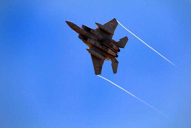 写真: F-15