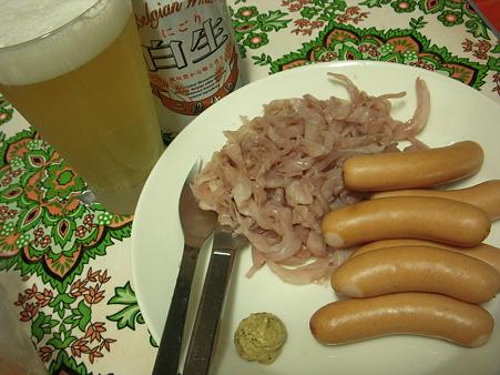 白ビール&ソーセージ