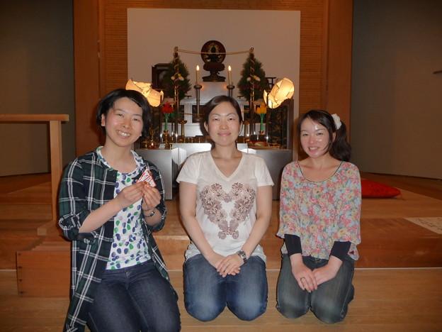 三人とも素敵な笑顔です