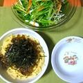 Photos: 高菜のスパゲッティ…