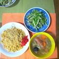 Photos: 炒飯セット…