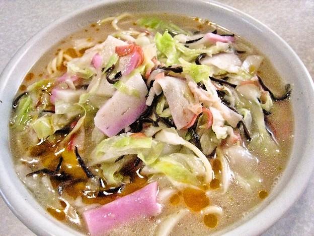 ちゃんぽん麺…