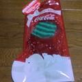 コカ・コーラ ギフトバッグ付き ふわもこくつした