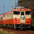 Photos: 【0077】キハ40形+キハ48形 高山本線全線開通80周年記念ヘッドマーク付