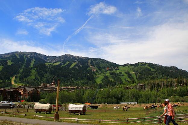 夏のJackson Hole Mountain Resort