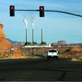 信号待ち…I SPY 1Pickup Truck、2Red Traffic Lights、3Chimneys