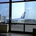 Photos: 空港なう。さらば関西よ。お前の暑さは忘れない…