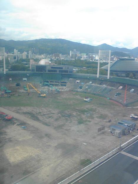 旧広島市民球場(2011年9月18日sun)