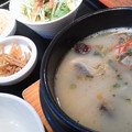 Photos: 参鶏湯ランチ! でぬくぬく...