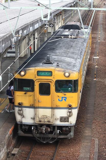 キハ40形2000番台キハ40-2035 普通岩国行き