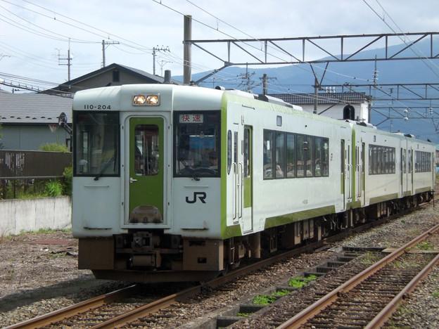 キハ110形200番台キハ110-204 快速あがの1号新潟行き