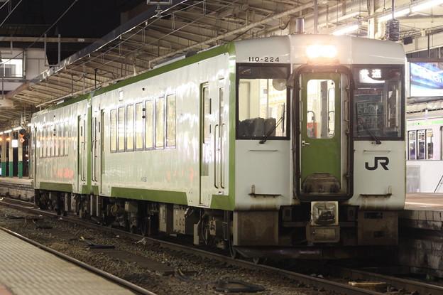キハ110形200番台キハ110-224 普通新津行き