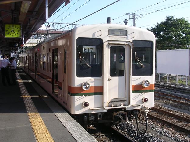 119系カキE17編成 普通豊橋行き
