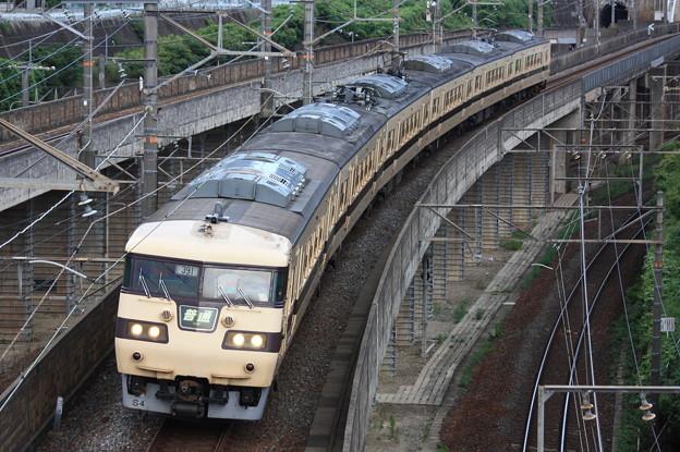 117系キトS04編成 普通京都行き
