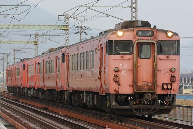 キハ40形2000番台キハ40-2047 回送