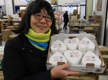 ハート型のチーズ−札幌