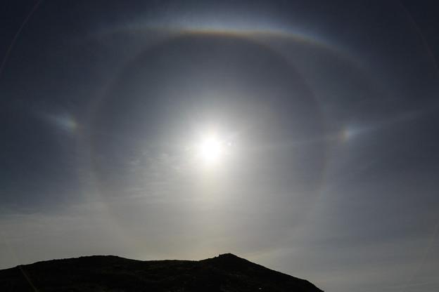 日暈+幻日+水平の虹