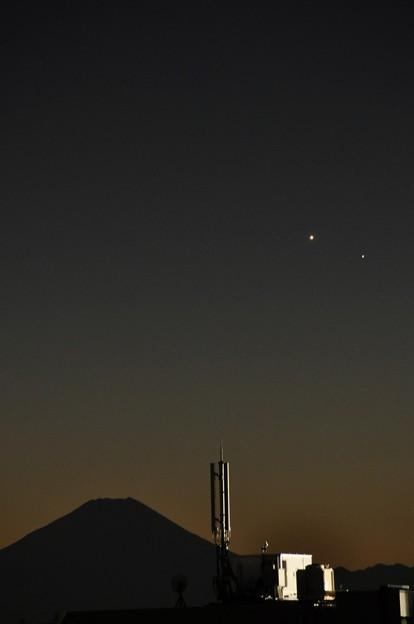 1月12日、水星と金星が大接近?