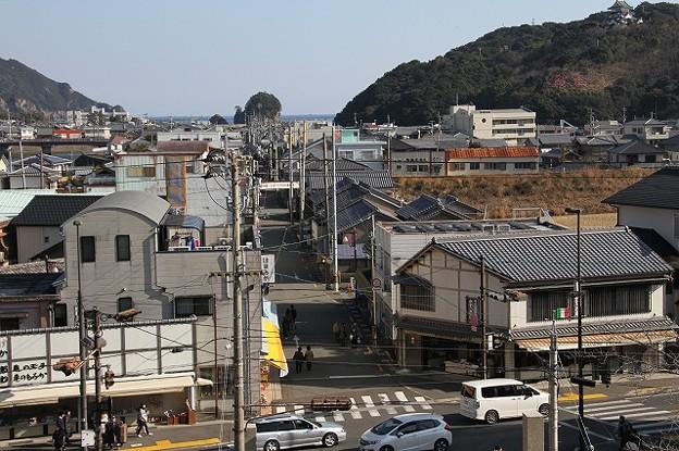日和佐町の道