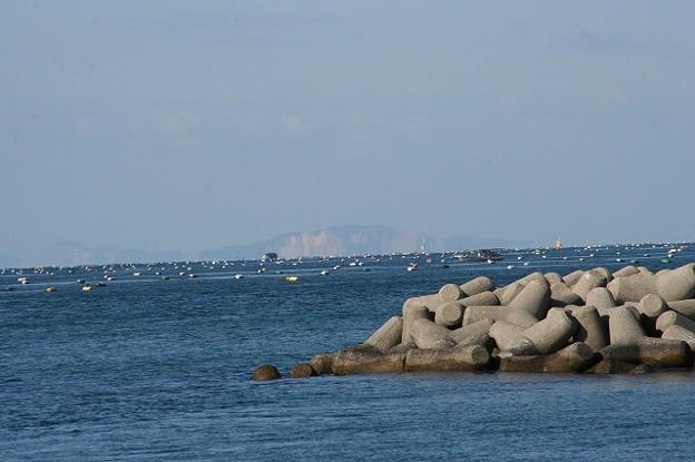 江井ヶ島から小豆島方面