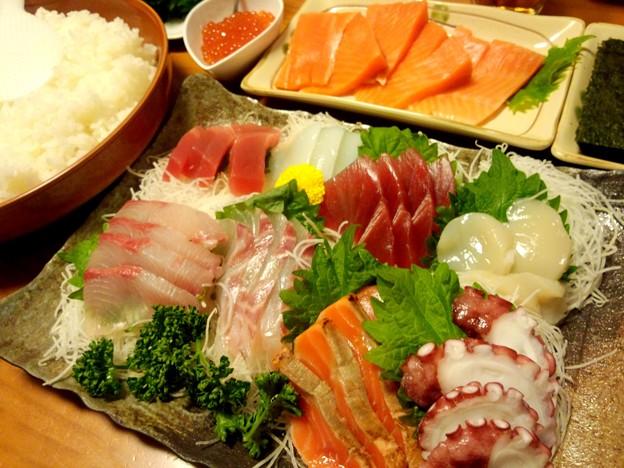 手~巻き寿司~♪