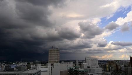 より発達中の雲