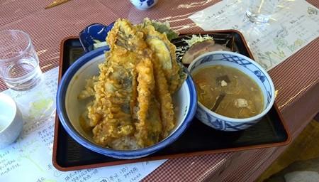 山女魚天丼