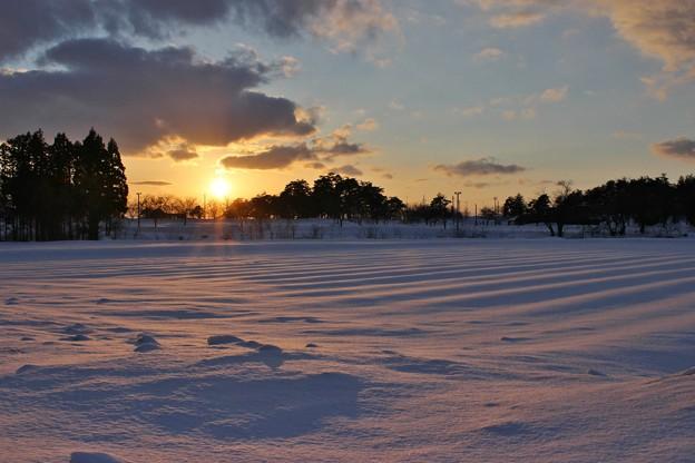 雪のある風景 2