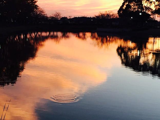 水紋あるいは落陽