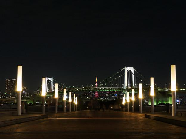 Photos: 東京タワーに続く、プロムナード。