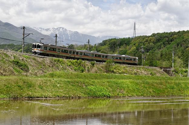 まるで、登山鉄道。