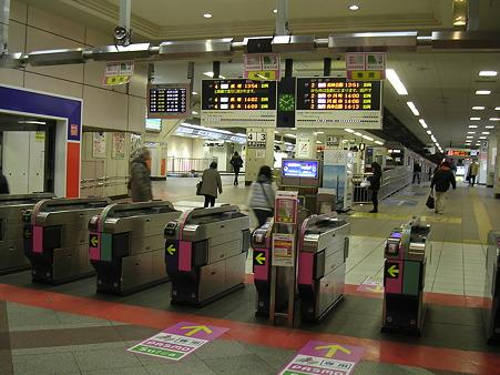 池袋駅東武東上線ホーム