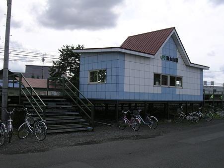 南永山駅待合室