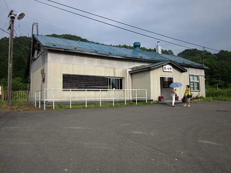 鹿ノ谷駅舎