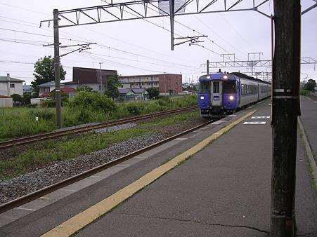 幌別駅11