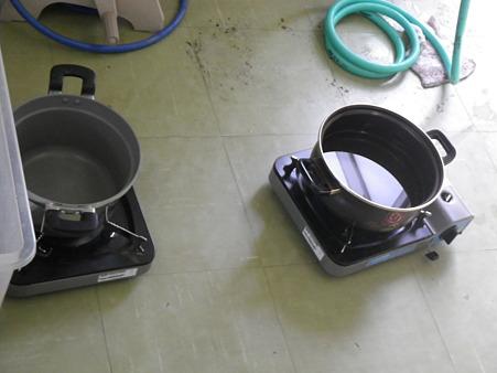ぬるま湯作り