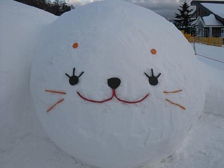 菅平高原の雪像たち (16)
