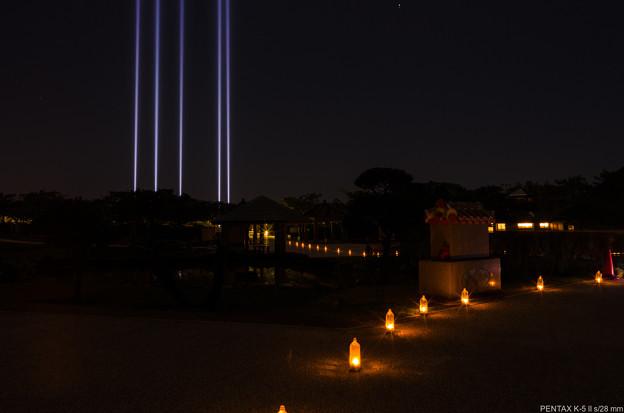 平和の光の柱