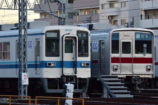 東武8000系と9000系