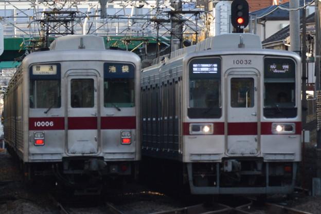 東武10000系と10030系