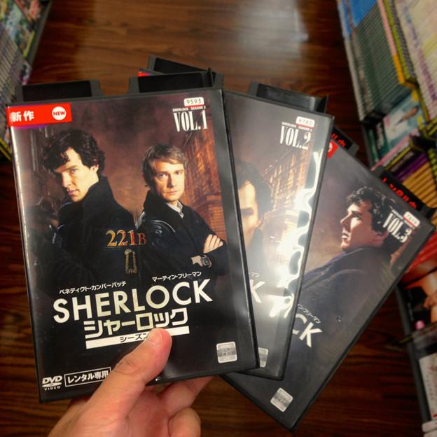 SHERLOCK シーズン3、DVDレンタル開始! - 1