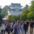 写真: 秋の名古屋城 - 03:「名古屋まつり」に伴う無料公開で賑わう名古屋城