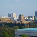 写真: 秋の名古屋城 - 30:天守閣最上階からの眺め(名古屋市役所と愛知県庁)