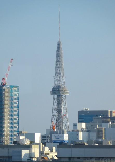 秋の名古屋城 - 34:天守閣最上階からの眺め(名古屋テレビ塔)
