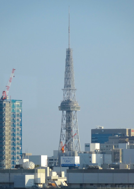 写真: 秋の名古屋城 - 34:天守閣最上階からの眺め(名古屋テレビ塔)