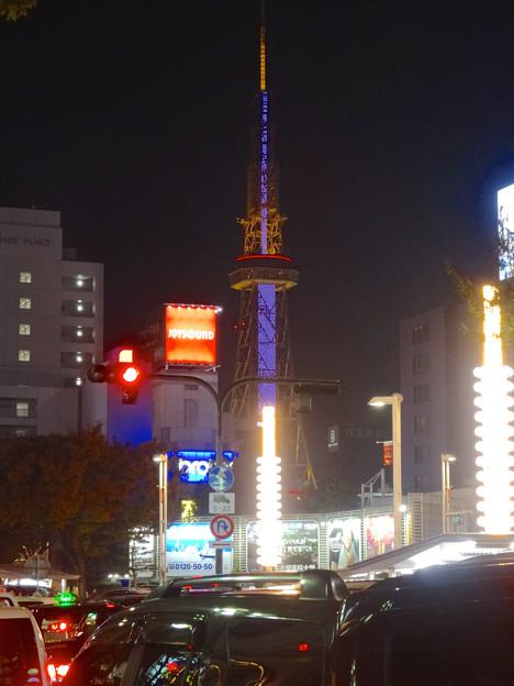 写真: 大津通から見た名古屋テレビ塔