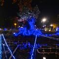 写真: NAGOYAアカリナイト 2014 No - 49:名古屋テレビ塔前のイルミネーション
